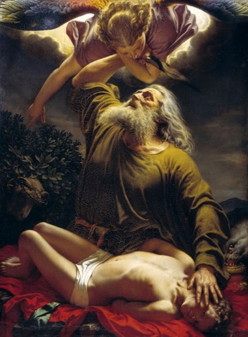 Reitern – Abraham brought Isaac to sacrifice