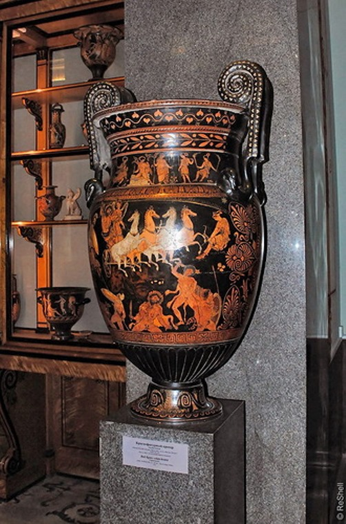 Vase. Hall of Ancient Egypt