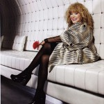 Most popular singer in Russia, Alla Pugacheva
