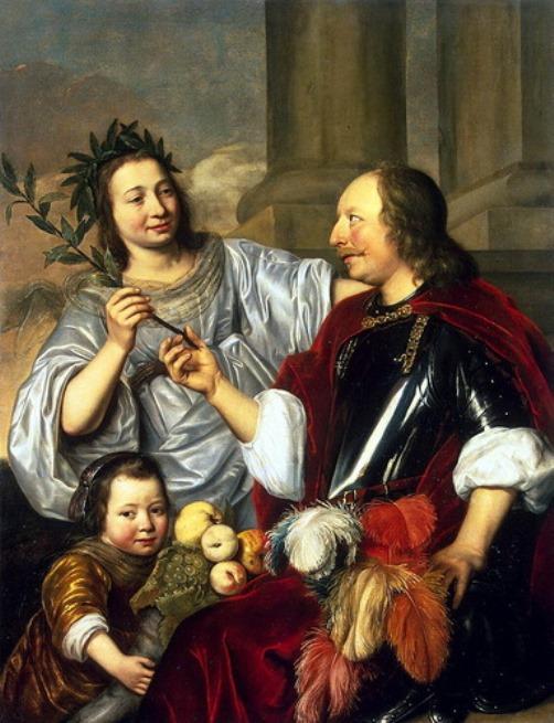 Allegorical Family Portrait
