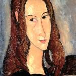 Portrait of Jeanne Hébuterne, 1918