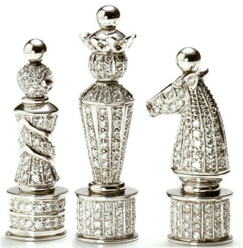 The Royal Diamond Chess set