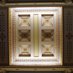 Interior decor in the Twenty Columns hall