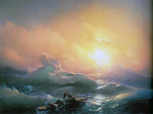 The Ninth Wave. Ivan Aivazovsky