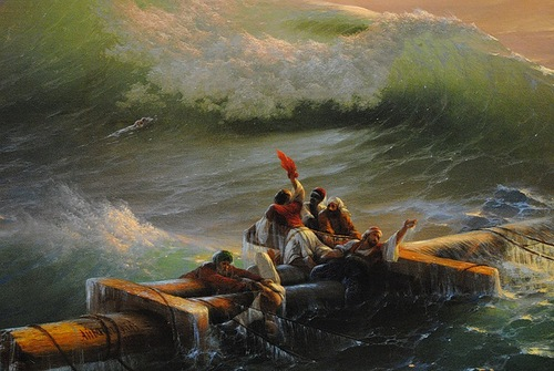 The Ninth Wave. Ivan Aivazovsky