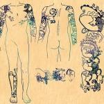 Drawings of tattoos. Siberian Princess reveals 2500 year old tattoos