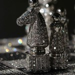 The Royal Diamond Chess set