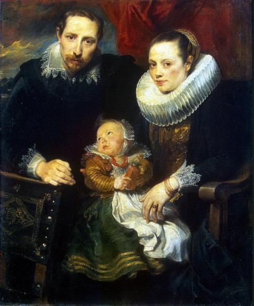Family portrait. Anthony Van Dyck
