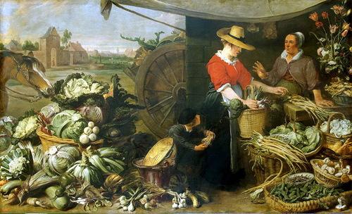 Frans Snyders – Fruit Shop