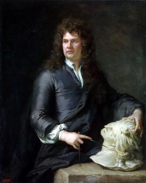 Kneller Godfrey – Portrait of John Locke