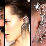 Collage of Earcuff earrings
