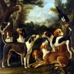 Wootton, John – Hounds and a Magpie