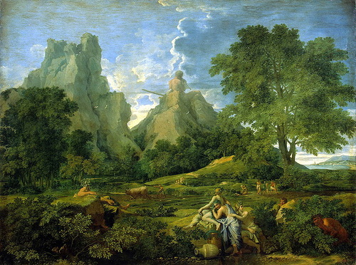 Poussin, Nicolas – Landscape with Polyphemus