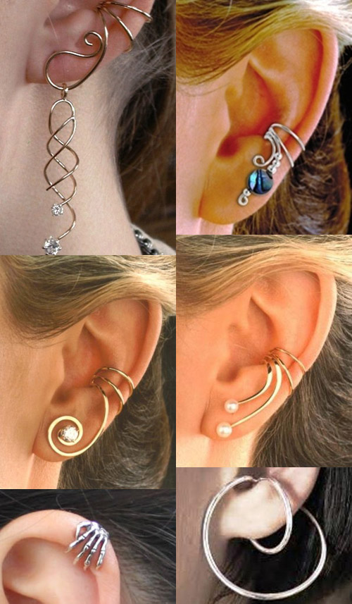Samples of Earcuff