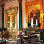 Malachite room in the Winter Palace of Hermitage