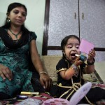 Jyoti Amge, the tiniest woman on Earth
