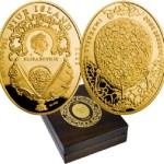 Mint of Poland commissioned Niue presented a series of gold coins on the fabulous Faberge Imperial eggs.