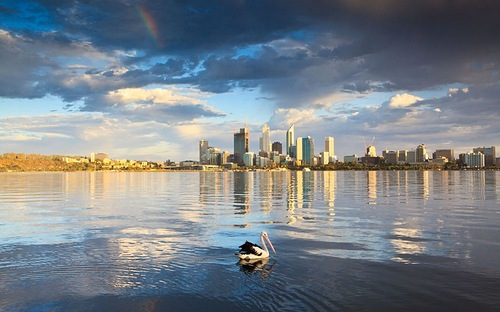 9th place. Perth, Australia. 95.9 points