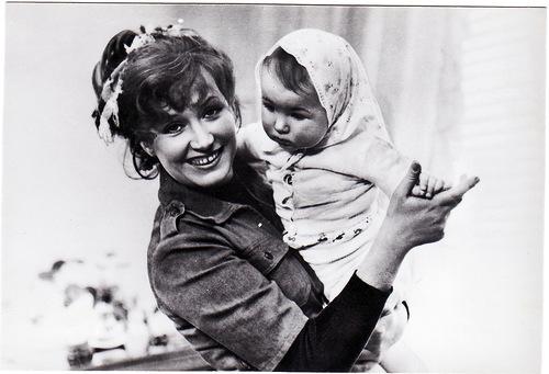 Alla Pugacheva and her daughter Kristina