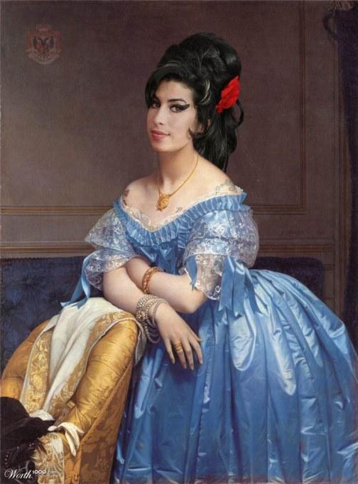 Beauty through eternity. Amy Winehouse