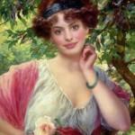 The Pre-Raphaelite lady Anne Hathaway