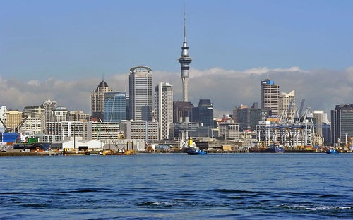 Auckland, New Zealand, 10th place. It was rated in 95.7 points out of 100. The best 10 cities to live