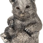 Bear Sterling Silver Sculpture, Buccellati