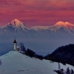 Snowy hills. Beautiful landscapes by nature photographer Tomaz Benedicic