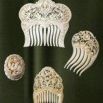 Hair combs. Kholmogory, Russia