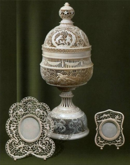 Mirror or photo frames. Kholmogory, Russia