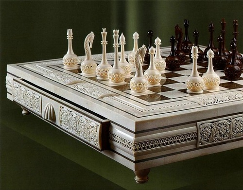 Chess set. Kholmogory