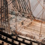 The thorough and accurate work of the masters is amazing. British Navy ship models of human bones