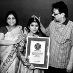 Chirasree Dasgupta in Guinness Records