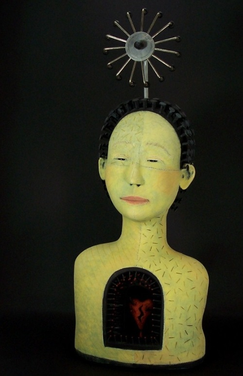 Clay Sculpture by American artist Victoria Sexton