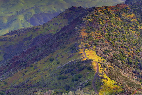 Mountain landscape by nature photographer Kevin McNeal