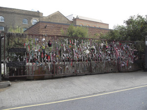Cross Bones Graveyard in London