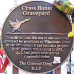 Cross Bones graveyard