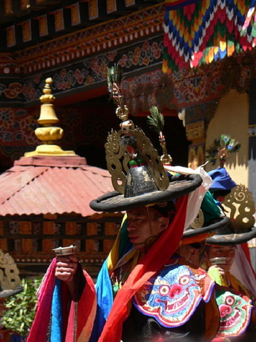 Dance of the Black Hats Paro Tsechu