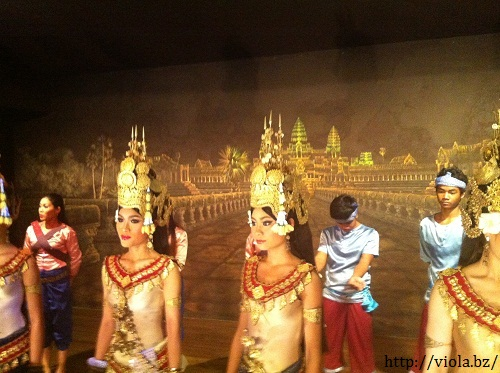 Angkor dancers, Photo taken during the trip, August 2012