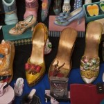 Beautiful souvenire shoes, collection of Darlene Flynn from California