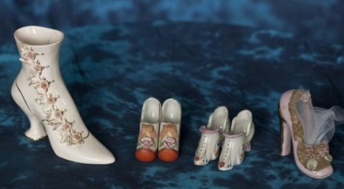 Darlene Flynn collection of shoes