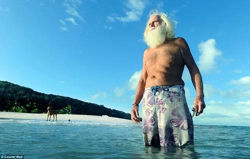 David Glasheen Real life Robinson Crusoe