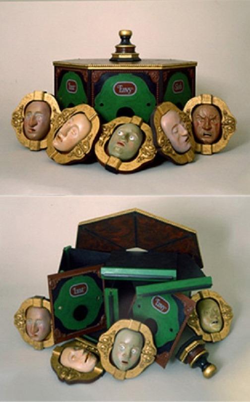 Seven Deadly Sins, the Masks