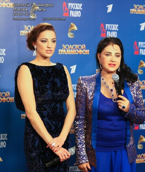 the award 'Golden Gramophone 2012'