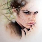 Feminine beauty in drawings by Bec Winnelwith