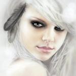 Feathers. Feminine beauty in drawings by Australian artist Bec Winnelwith