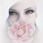 Feminine beauty in drawings by Australian artist Bec Winnelwith