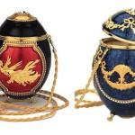 Firebird Handbag & Marie Antoinette Handbag by Vivian Alexander