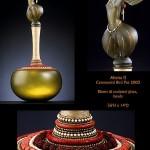 Abena II. Sculpted Glass art work