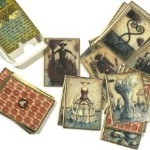 Sets of Handcolored playing cards Eisbergfreistadt